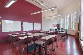 Another class room at New Heights. Photo credit: T. Ligamari.
