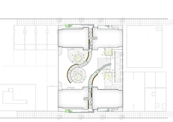 St Lucy's site plan