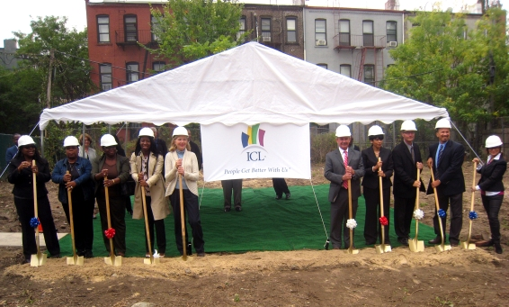 Myrtle Avenue Groundbreaking